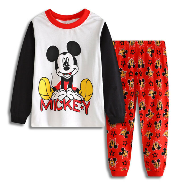 Kids boys Eve Christmas Clothes pajamas set Suitable for 2-7 years old nightwear