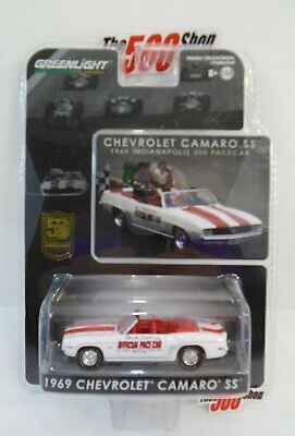 1969 CHEVY CHEVROLET CAMARO SS INDIANAPOLIS 500 PACE CAR 1//64 DIECAST MODEL CAR