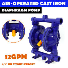 Air Operated Double Diaphragm Pump Inlet Amp Outlet Petroleum Fluids 12gpm 12