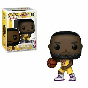 uk availability 20fc4 9ed5d Details about #52 Funko POP! Lebron James NBA Lakers Yellow Jersey Foot  Locker Exclusive