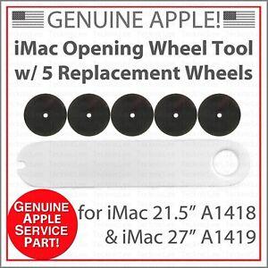 "Apple 6pcs iMac LCD Screen Adhesive Open/Cut Wheel Tool 21.5"" A1418 & 27"" A1419"