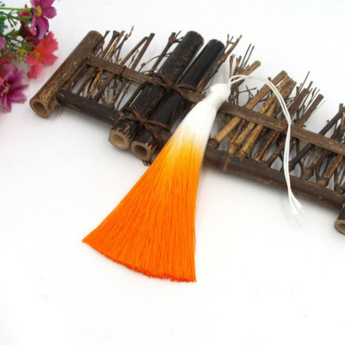 Long Silk Tassels Fringe Trim Craft DIY Costume Curtains Sewing Jewelry Decor