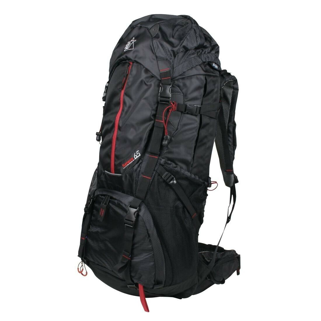 Seneca 65 XL Zaino da trekking Zaino da viaggio Zaino da escursione Parapioggia