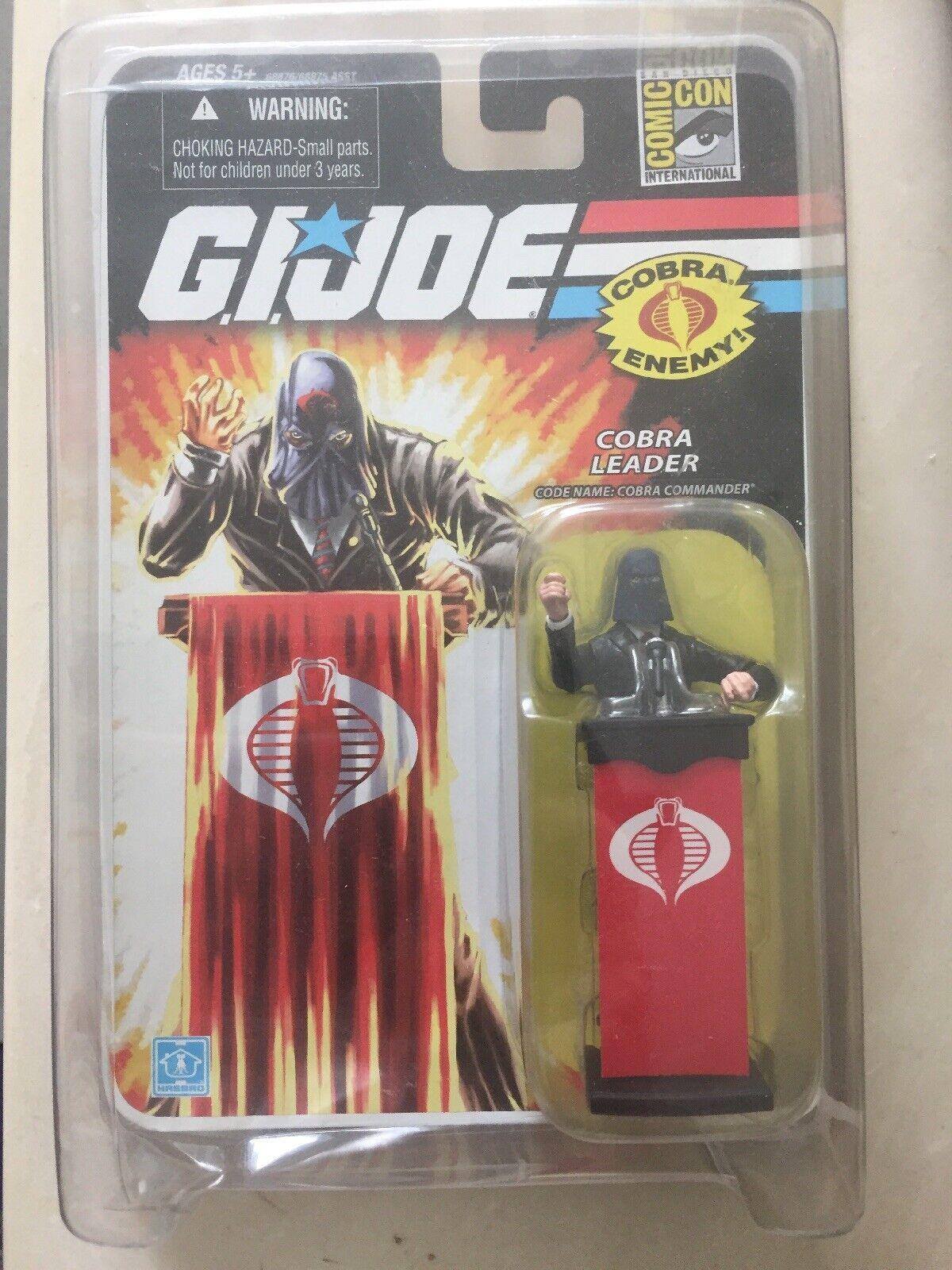 New Cobra Commander Leader G.I. Joe 25th Anniversary 2008 SDCC Convention Excl
