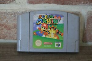 Jeu Game Super Mario 64 pour console Nintendo 64 N64 version PAL FR
