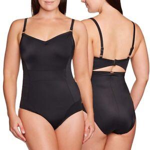 UK Womens Animal Print Tummy Control Monokini Swimwear Bikini Swimming Costume