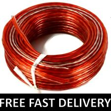 10M Y100 AUDIO LOUD SPEAKER WIRE CABLE Home Car HI-FI Thick HQ Multi Strands UK