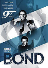 BEFORE THEY WERE BOND - 9 MOVIES (2PC) / DVD NEW James Bond Characters Spy