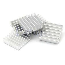 20pcs Aluminum 6.5x6x3.5mm Mini Heat Sink MOSFET MOS IC Chipest Cooling Heatsink