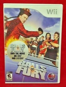 Balls of Fury Ping Pong Nintendo Wii Game Complete 1 Owner Mint Disc 1-2 players