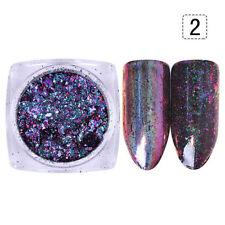 Chameleon Holo Flakes Holographisches Laser Powder Nail Glitters BORN PRETTY #2
