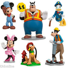 Disney Authentic FIGARO Cat Happy Helpers Cake TOPPER Toy CLUBHOUSE BOWTOON NEW