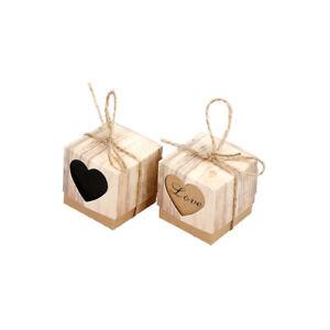 Kraftpapier-Suessigkeit-Kasten-Verpackungs-Party-Herz-geformt-Lieferungen
