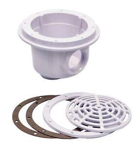 bodenablauf ablauf f r folienbecken betonbecken styroporstein pool ebay. Black Bedroom Furniture Sets. Home Design Ideas