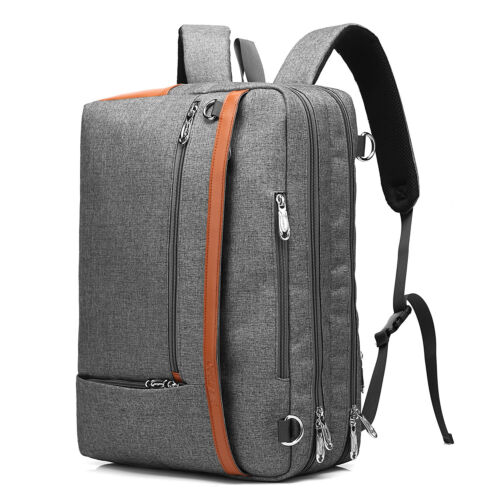 "COOLBELL 15//17/"" CONVERTIBLE BACKPACK LAPTOP MESSENGER SHOULDER BAG CASE HANDBAG"