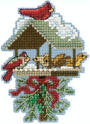 MILL HILL GLASS BEAD MAGNET KIT Beaded Cross Stitch HEDGEHOG 1913