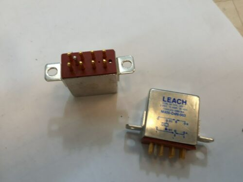 Lot x 2   M300-D4N-003 RELAY 10 A 2PDT  28VDC