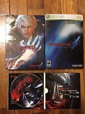 Devil May Cry 4 Collector's Edition (Microsoft Xbox 360, 2008) + DVD Bonus Discs