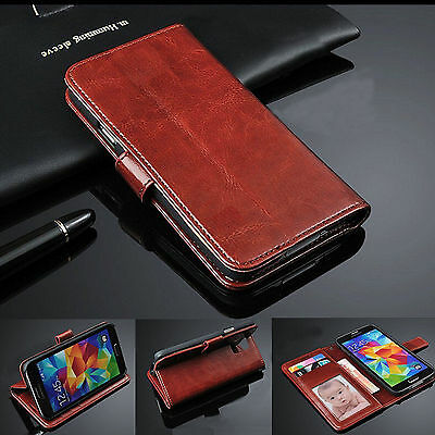 Luxury Wallet Flip Cover for iPhone 6 / 6S Plus PU Leather Case w/3 Card Slots