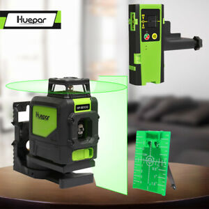 Laser-Level-Green-Beam-360-Horizontal-and-one-Vertical-Line-laser-receiver