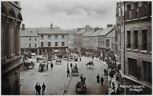Armagh-Market-Day-on-Market-Square-published-by-Lawrence
