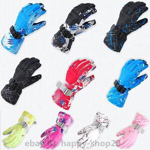Winter-Sports-Warm-Waterproof-Snow-Motorcycle-Snowmobile-Snowboard-Ski-Gloves