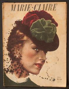 039-MARIE-CLAIRE-039-FRENCH-VINTAGE-MAGAZINE-19-APRIL-1941