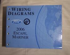2009 Ford Escape Mercury Mariner Hybrid Wiring Diagrams Electrical Shop Manual Ebay