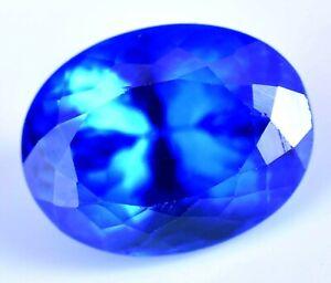 Certified-Natural-14-05-Ct-Rare-Lustrous-Blue-Tanzanite-Loose-AAA-Gemstone