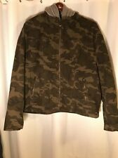 Levis Mens Military  Woodland Field Camouflage Jacket Spring light Removable