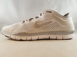 designer fashion 9e969 356b0 Details about Nike Free 5.0 TR Fit 4 Women's Running Shoe 629496-102 Size11