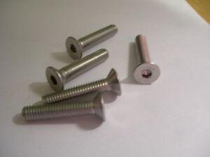 # 6 Flat Head Stainless Steel Screws 100 Count Asstd