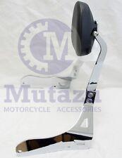 Mutazu CNC Billet Sissy bar Passenger Backrest for Suzuki Boulevard M109R 06-15