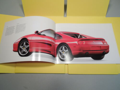 LARGE FERRARI 456 GT and F355 BERLINETTA  FOLD OUT SALES  PACK