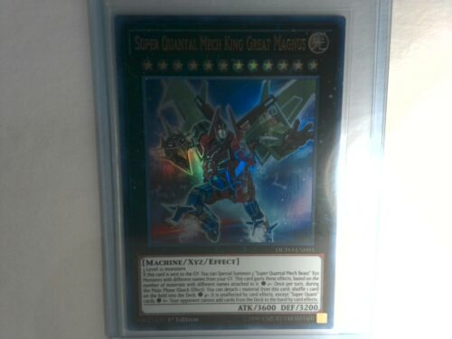 DUPO-EN093 Super Quantal Mech King Great Magnus M//NM Ultra Rare-1st Edition