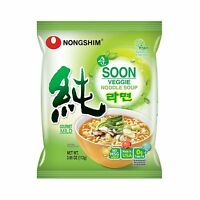 Nongshim Soon Noodle Soup Veggie 3.95 Ounce (pack Of 10) Free Shipping