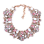 Fashion-Elegant-Women-Bib-Crystal-Pendant-Statement-Chain-Chunky-Choker-Necklace thumbnail 125