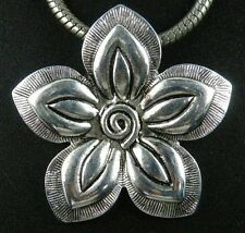 15pcs Tibetan Silver Big Flower Charms Pendants Jewelry DIY 44x43x3mm 13035
