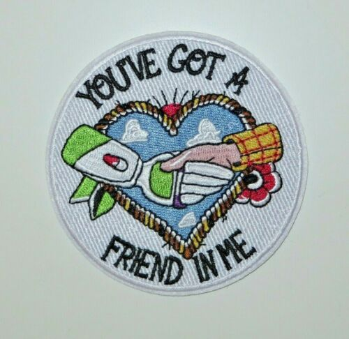 """Toy Story /""""You/'ve Got A Friend In Me/"""" 3.5/"""" Embroidered Iron//Sewn On Patch"""