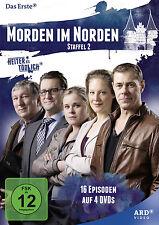 4 DVDs * MORDEN IM NORDEN - KOMPLETTE STAFFEL 2 - HEITER BIS TÖDLICH # NEU OVP^