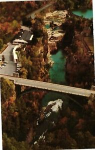 Vintage Postcard - Aerial View of The Famous Ausable Chasm New York NY  #4937