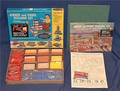Kenner Girder & Panel #2 Set -Near Mint Condition!! - 107% Complete!