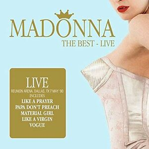 MADONNA-The-Best-LIVE-2-CD-NEU-amp-OVP