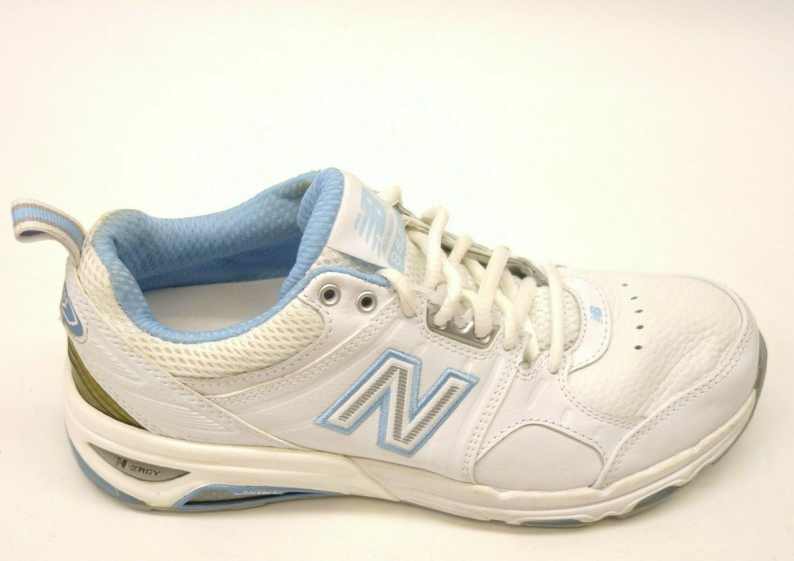New Balance 857 US 8,5 Eu 40 2a X-Narrow Cuir Blanc Marche Chaussures pour