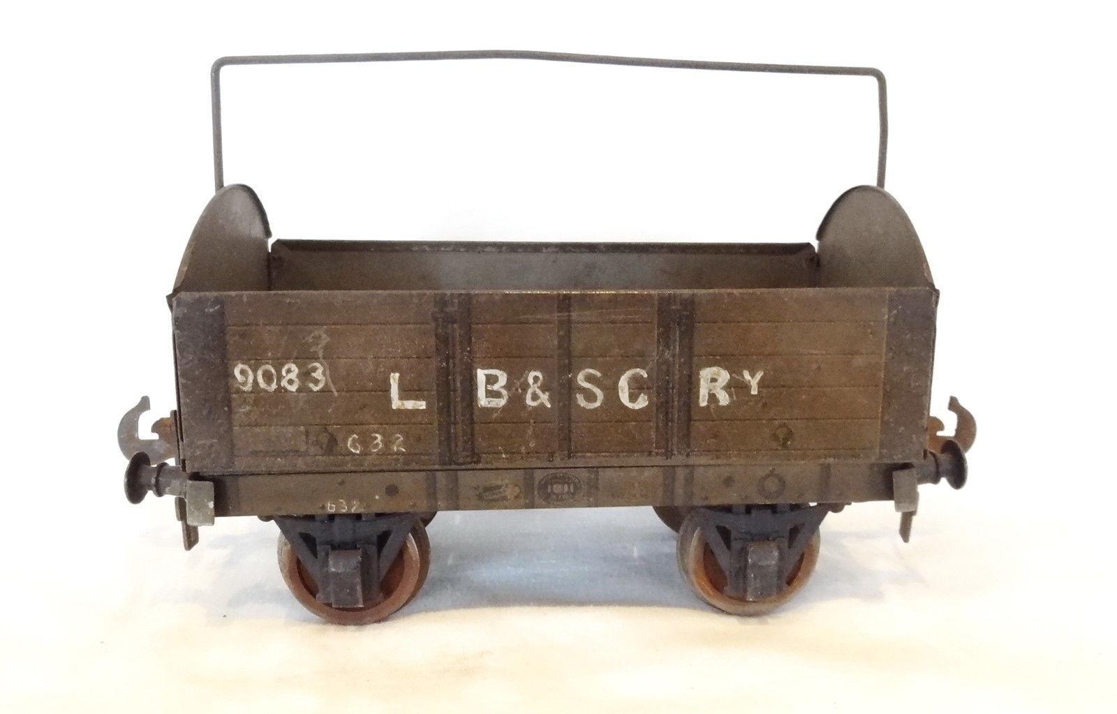 023B årgång bilette för bassett lågke Gage1 LB &SCRY Tarpalin Wagon nr.9083