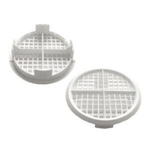 8-x-White-Plastic-70mm-Round-Soffit-Air-Vents-Upvc-Push-Fit-Eaves-Disc-Fascia