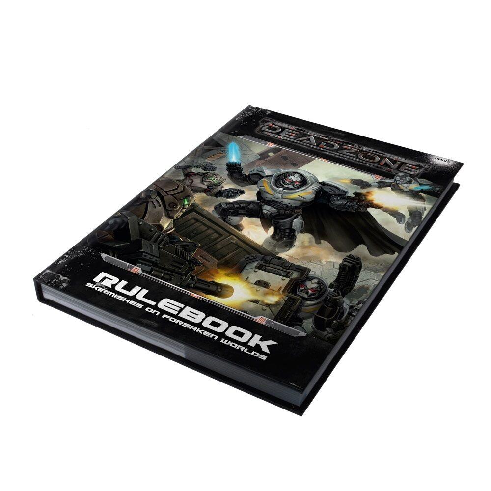 Deadzone 2nd Edition Regelbuch - Gesendet Erste Klasse  | Vorzügliche Verarbeitung