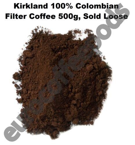 Kirkland 100/% colombien filtre café supremo bean dark roast fine grind 500g