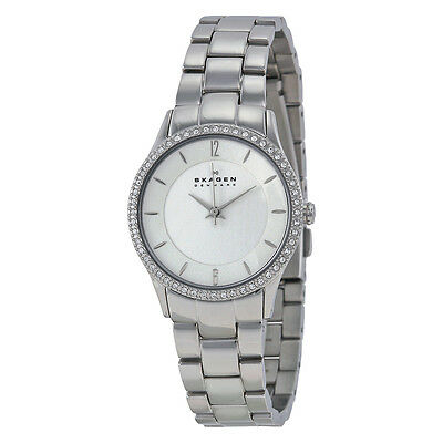 Skagen Mother of Pearl Dial Stainless Steel Ladies Watch 347SSX