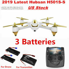Hubsan X4 H501S PRO 5.8G FPV Brushless Drone W/1080P Headless RC Quadcopter RTF
